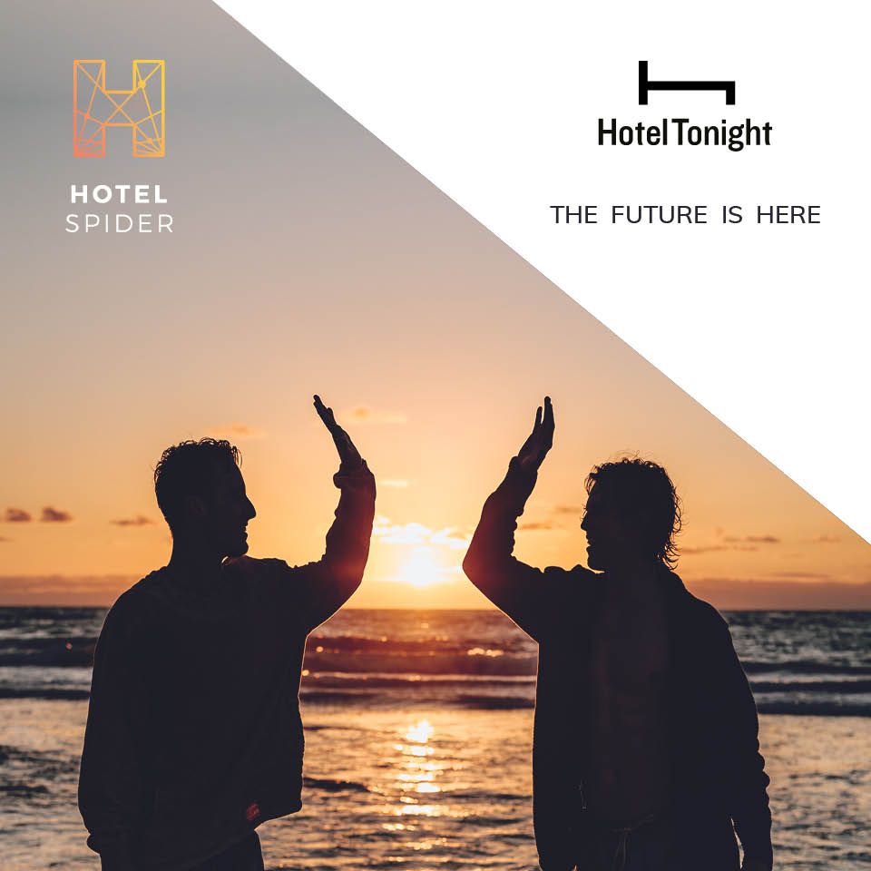 Hotel Tonight interface with Hotel-Spider