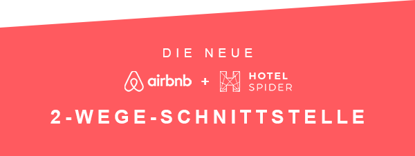 The new Hotel-Spider and Airbnb 2-way XML interface